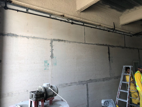 Construction of ECOCON Solid Wall