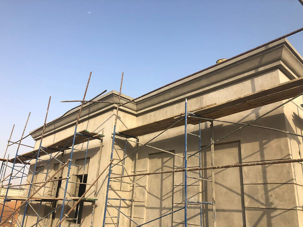 ECOCON Decorative Cornices at Sheikh Zayed Housing Project