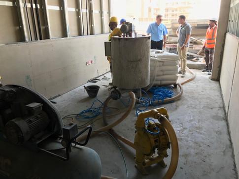 Construction of ECOCON Solid Walls