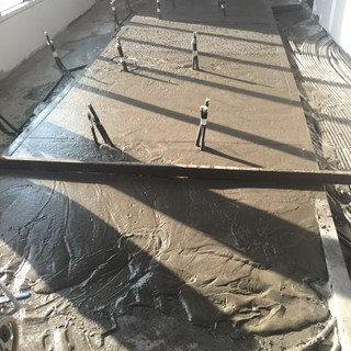 ECOCON lightweight cellular concrete screed
