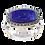 Thumbnail: Bague en Argent 925 (Lapis lazuli - Marcassites)