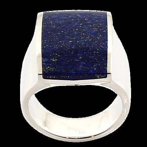 Bague en Argent 925 (Lapis lazuli)