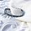 Thumbnail: Bracelet En Argent 925° (Emeraudes- Marcassites)