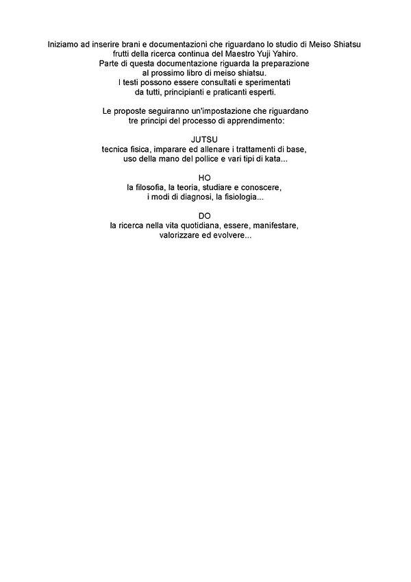 presentazione doumentazioni di meiso shi