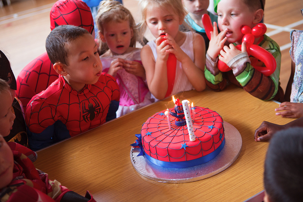 Spiderman Parties London And South East - Children's birthday parties tunbridge wells