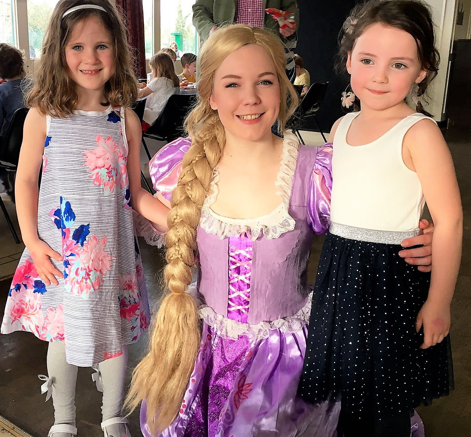 Rapunzel Parties London And South East - Children's birthday parties tunbridge wells