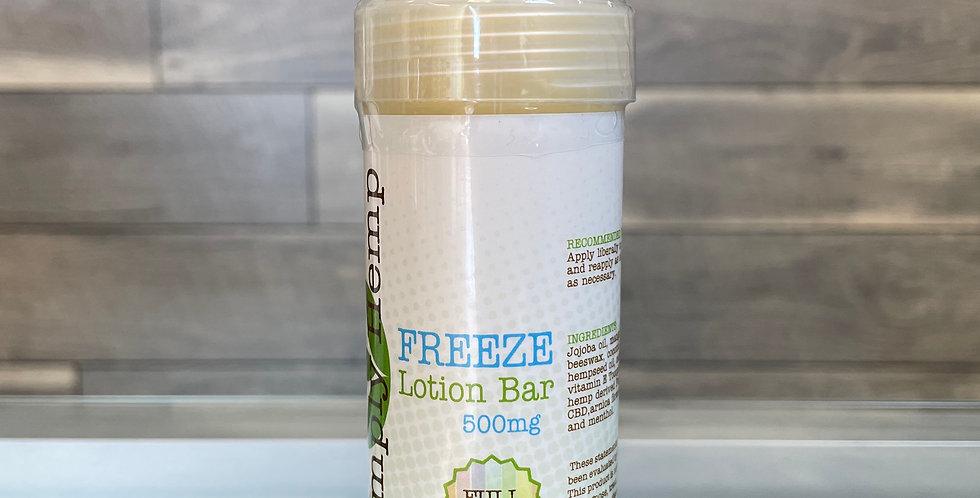 CBD Pain Relief Freeze Bar