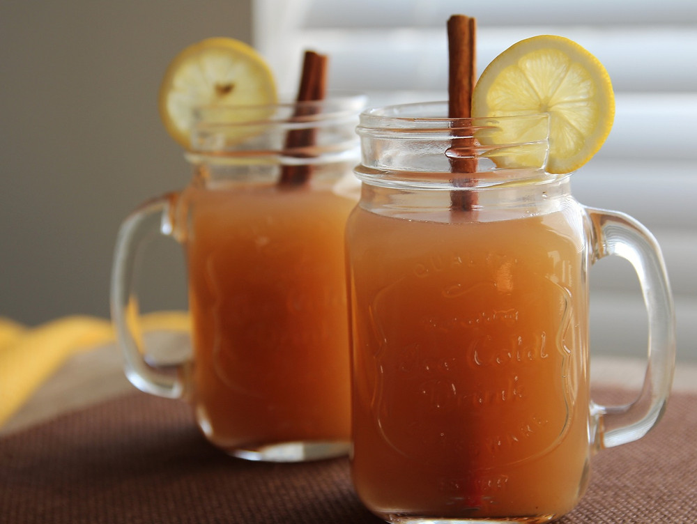 Image of warm apple cider
