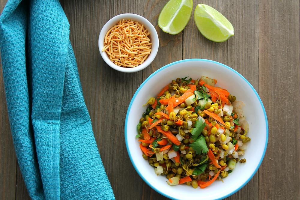 Warm Green Mung Salad