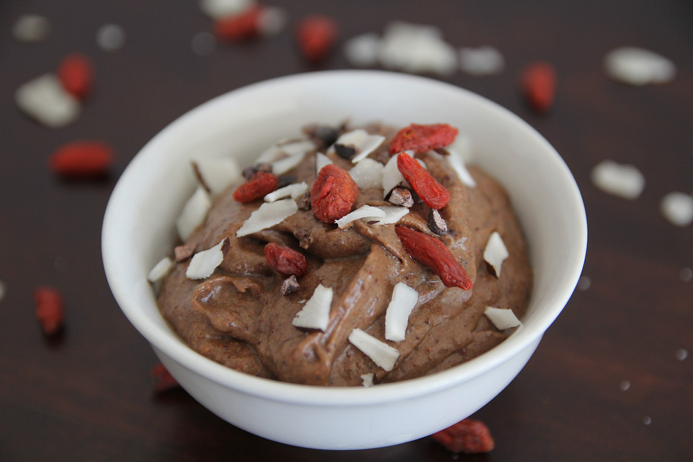 Image of chocolate mousse