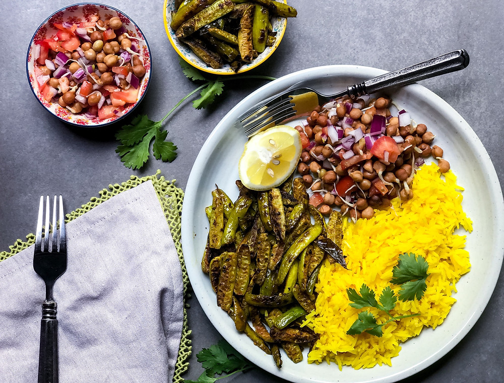 Picture of summer rice bowl by Anjana Menon