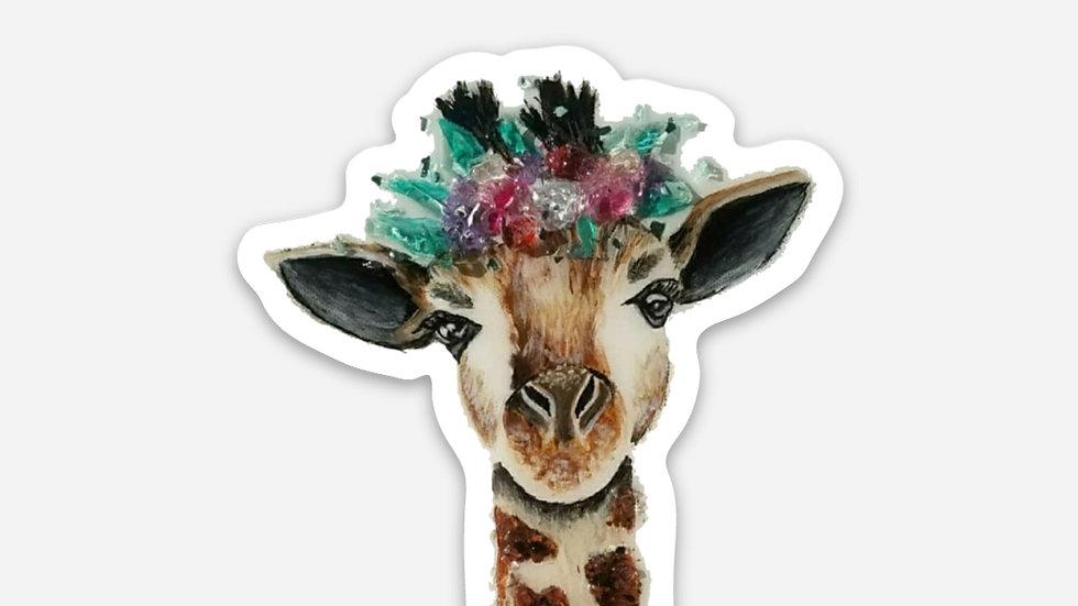 Giraffe sticker PRE ORDER