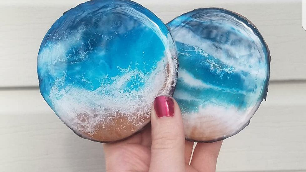 Oceanview coasters