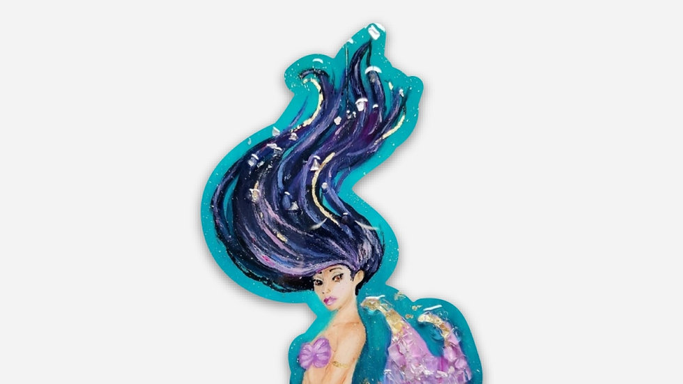 Purple mermaid sticker PRE ORDER