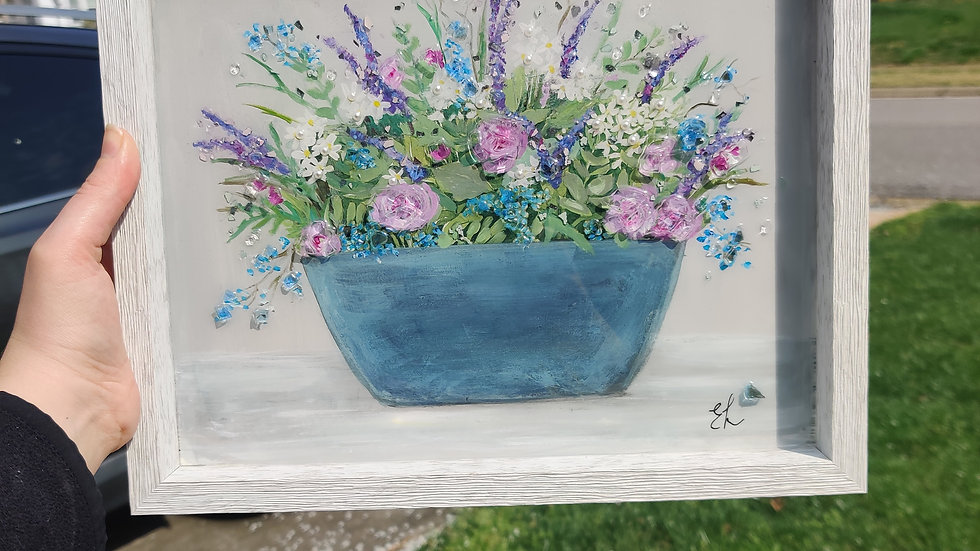 Original framed painting