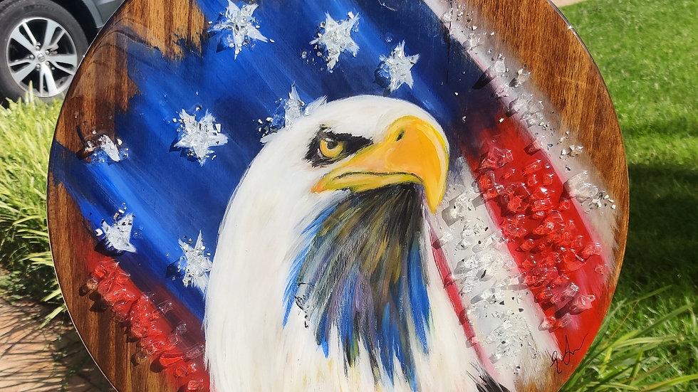 Original eagle painting