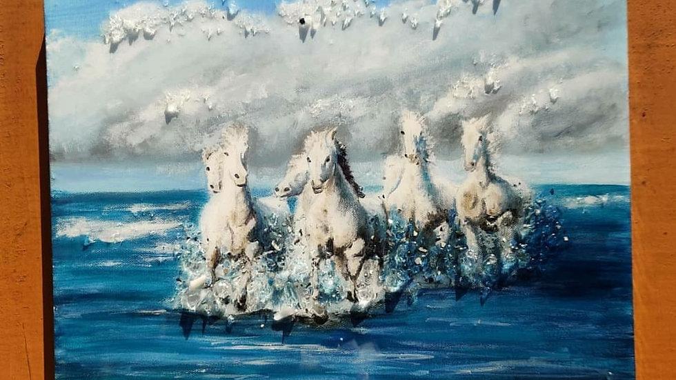 "Original painting ""Wild"""