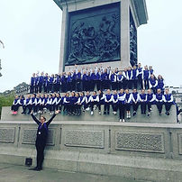 Footlights Dance School in Trafalgar Square