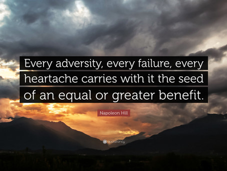 Adversity Makes A Man