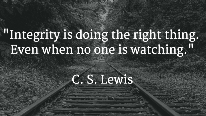 OUR INTEGRITY