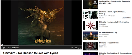 Chimaira No Reason To Live