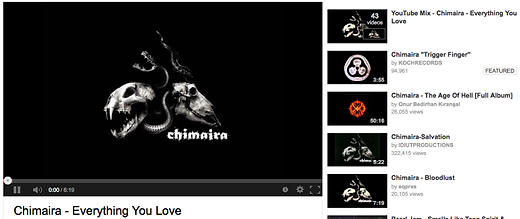 Chimaira Everything You Love