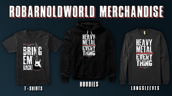 RobArnoldWorld Merchandise