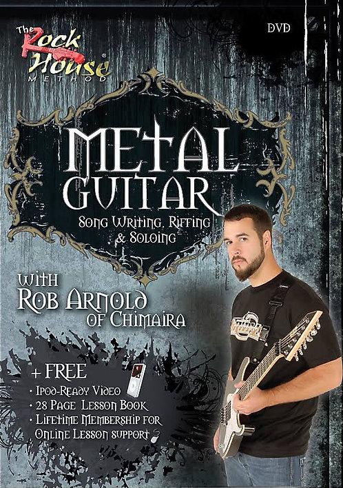 Rob Arnold Metal Guitar Instructional DVD