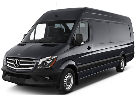 2018 Mercedes Benz Sprinter 14 Passengers | Rates Starting at $96.00/Hr.