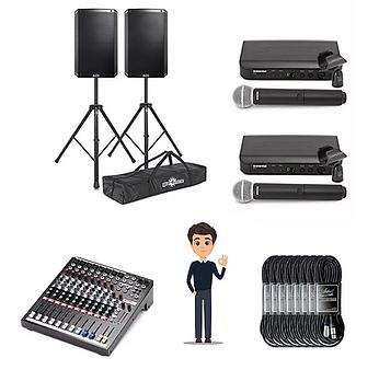 Peak speaker hire Derby package 2
