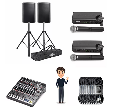 Peak speaker hire Derby package 2