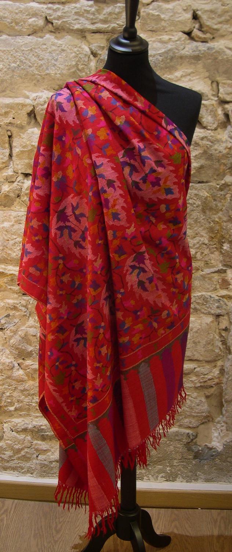 Châle Pashmina - Collection d'exception - Ansari Cachemire - Lyon