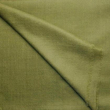 Étole Cachemire Vert Olive