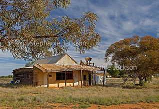 Derelict building in outback town of Nymagee - IMG