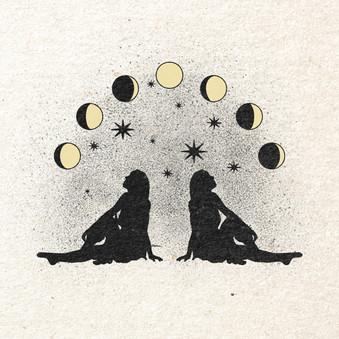 Star Gazing // Tiana Hamamoto — Illustration