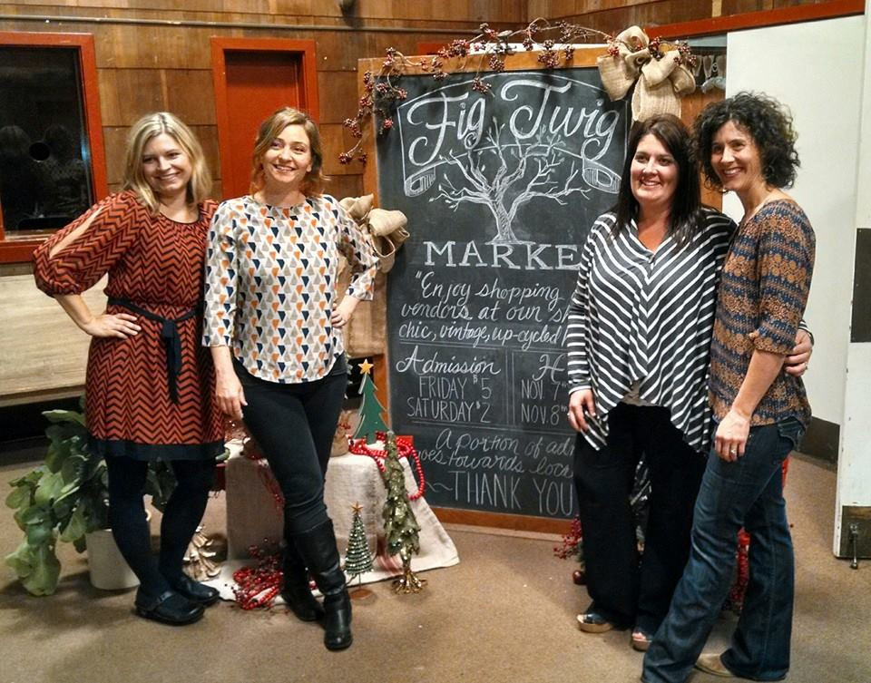 Fig Twig Market Committee, Andra Stringer, Heather Rust, Jennie Titus, Gina Mobley