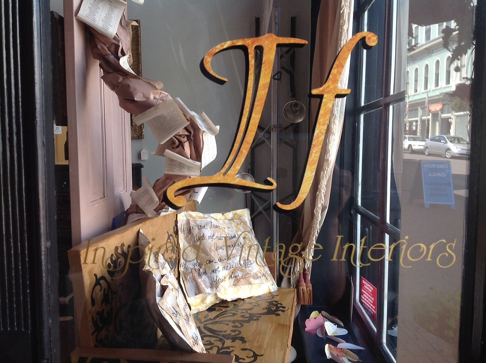 If Inspired, Fig Twig Market, Ferndale Victorian Village  Ca, shabby chic, vintage, up-cycled,