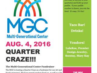 MGC Quarter Craze Fundraiser