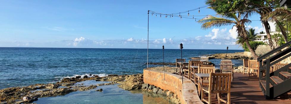 Natural saltwater pool