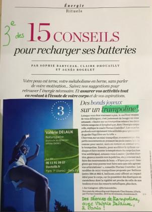 Psychologies Magazine - Recharger ses batteries avec le trampoline Bellicon