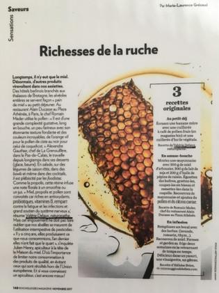 Psychologie Magazine - Richeese de la ruche