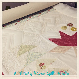 © 2014 A Thread Above Quilt Studio~Coastal Lily
