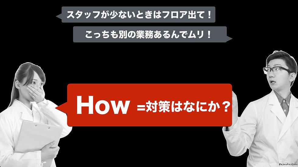 いきなり「対策」の話(How)