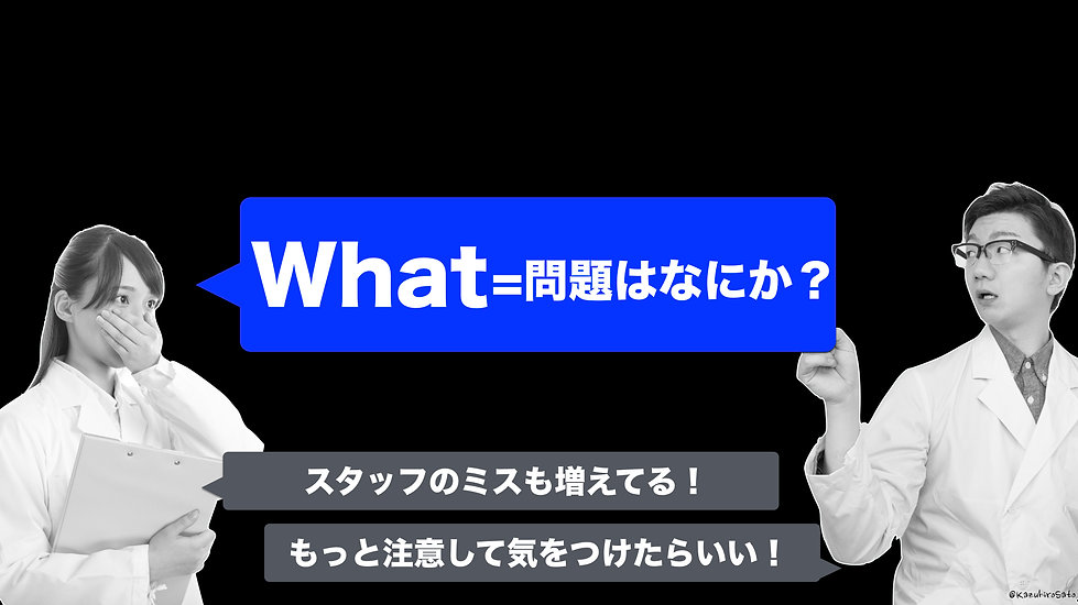 また別の「問題」の話(What)