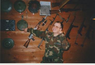 Danish bunker Bosnia 1999