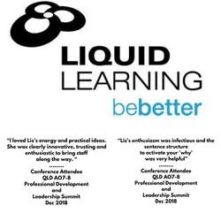 liquid learning testimonial