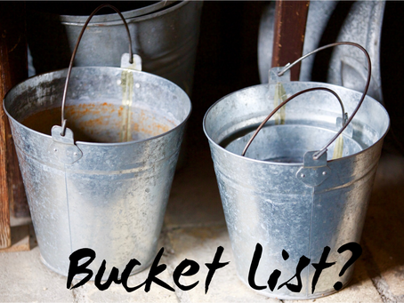 Do I need a bucket list?