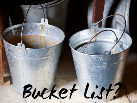 Do I need a bucket list?