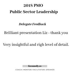 criterion conference delegate feedback