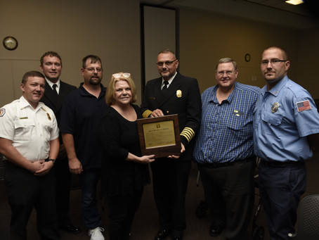 Founding Member Receives Distinguished Service Award